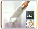 shower stool<br />wall mounted shower stool